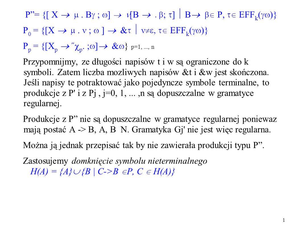 P = {[ X   ; ] [B  ; ]  B  P,  EFFk()}